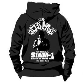 Siam No1 Hoodie Black