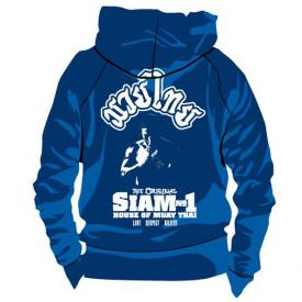 Siam No1 Hoodie Blue