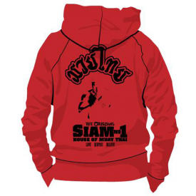 Siam No1 Hoodie Red