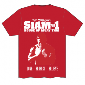 Siam No1 Tee Back Red