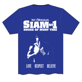 Siam No1 Tee Back Blue