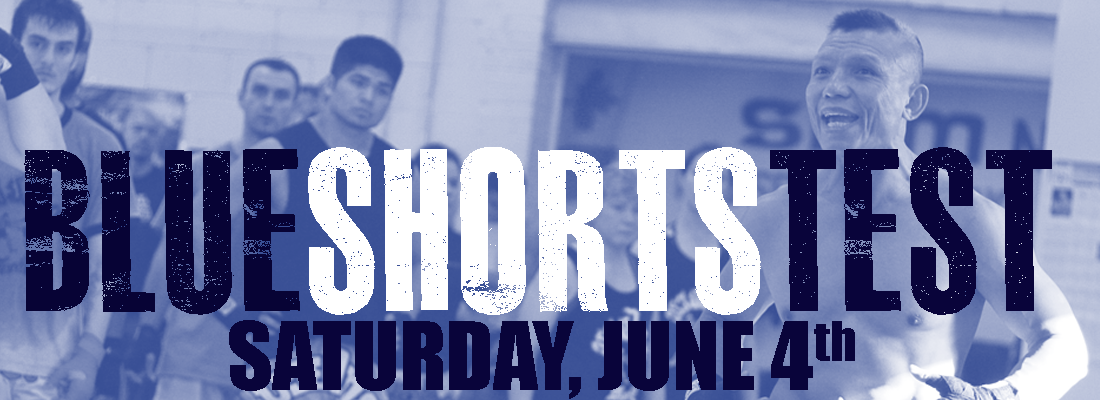 blue shorts test june4